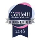 Scottish Confetti Wedding Awards 2016 Runner Up